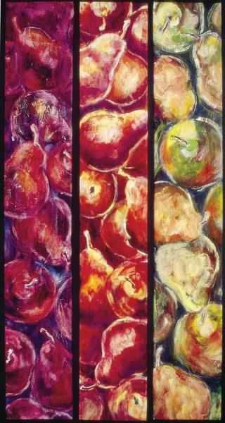 Pear Panels Art | Joan Cox Art