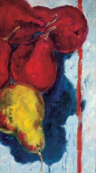 Orange Stripe Art | Joan Cox Art