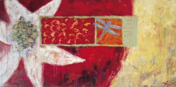 Red Seeds Art | Joan Cox Art