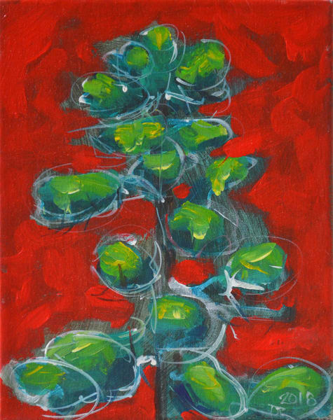 Spirit Tree In Napthol Red Art | studio176