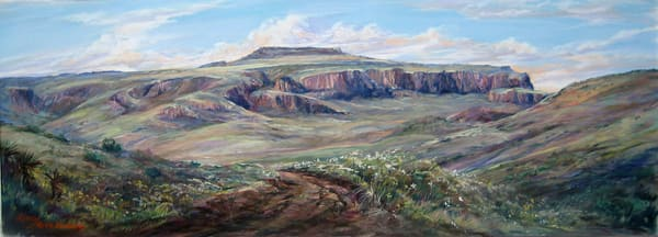 Lindy Cook Severns Art | Cresting Wild Rose Pass, print