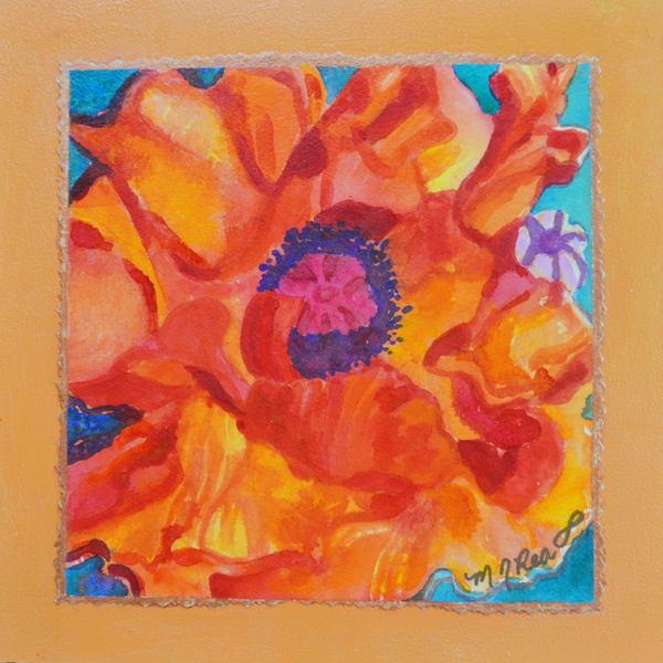 High Country Poppy  Art   Marilyn Rea Nasky Art