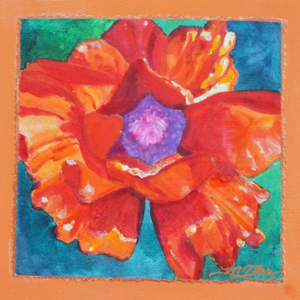 High Country Poppy Ii  Art   Marilyn Rea Nasky Art