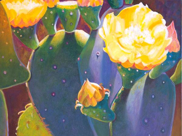 Yellow Rose Art   Marilyn Rea Nasky Art