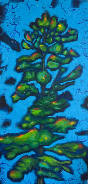 Spirit Tree In Blue Art | studio176
