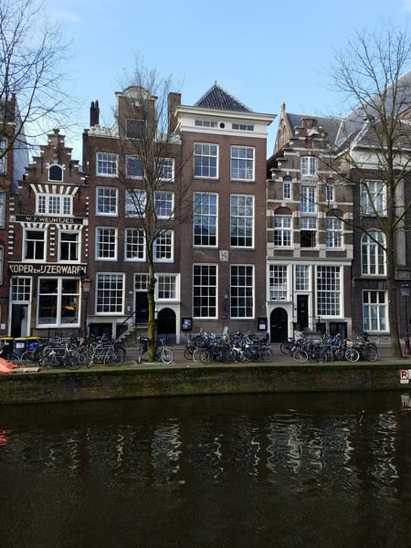Amsterdam Canals And Canal Houses #2 Photography Art | Photoissimo - Fine Art Photography