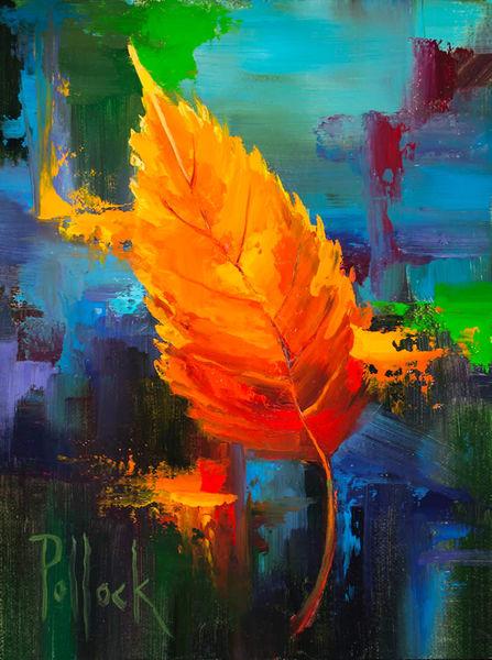 Sunburst No. 3, Splash original oil painting | Sarah Pollock Studio