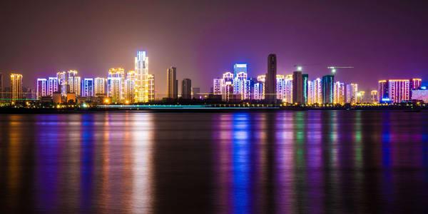 Wuhan City Lights