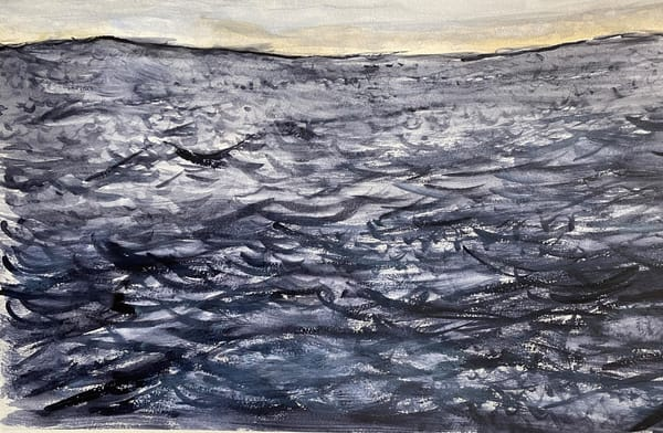 Dark Sea Below The Dawn Sky Art | Howard Lawrence Fine Art