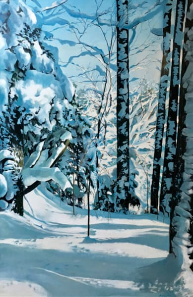 Hiawatha Winter Art | MANTHA DESIGN