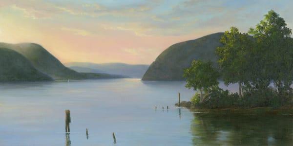*Sunrise Over The Hudson From Plum Point, Ny Art | Tarryl Fine Art