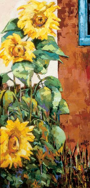 Sunflowers Art   Goldwoman Fine Art
