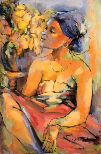 Sylvia Art   Goldwoman Fine Art