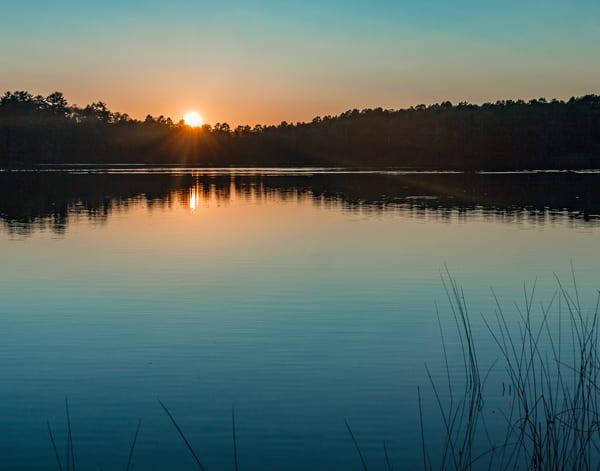 Glassy Sunset 2 by Jeremy Simonson