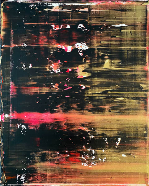One Night Stand abstract painting