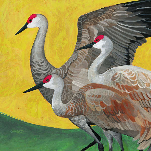 Crane Dance Art | Studio Girard