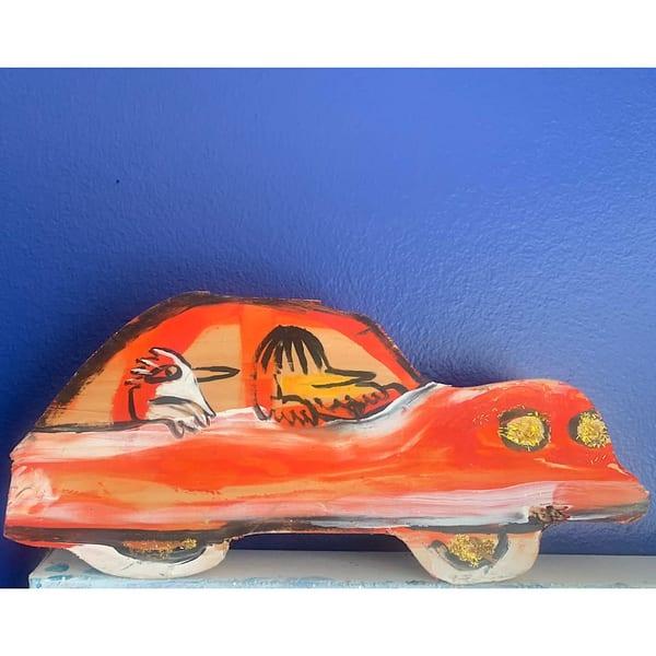 Bird Brain Red Ride Art | DuggArt