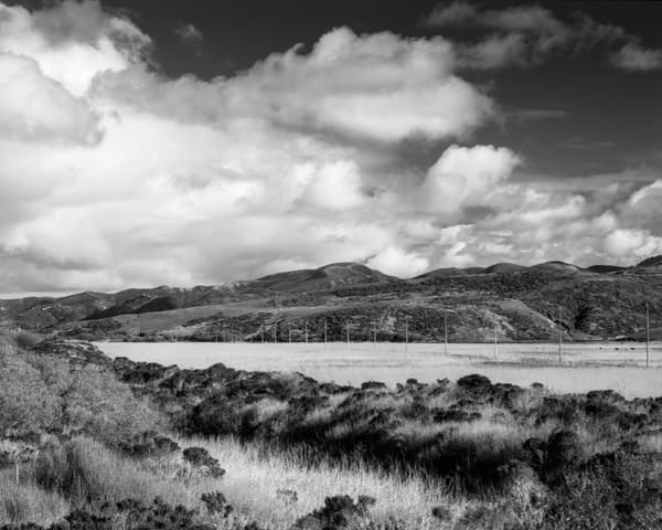 Field And Clouds   Lompoc Photography Art | Julian Whatley Photography