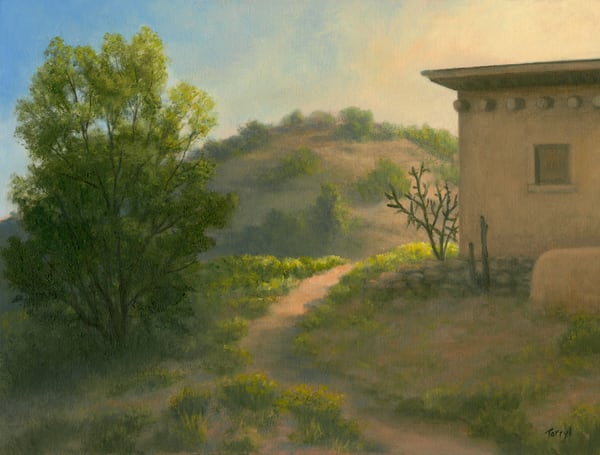 *Chimayo  Late Afternoon Art | Tarryl Fine Art