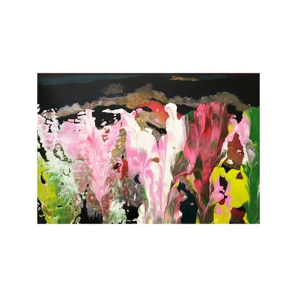 Night Flowers In The Spring Garden Art   Maciek Peter Kozlowski Art