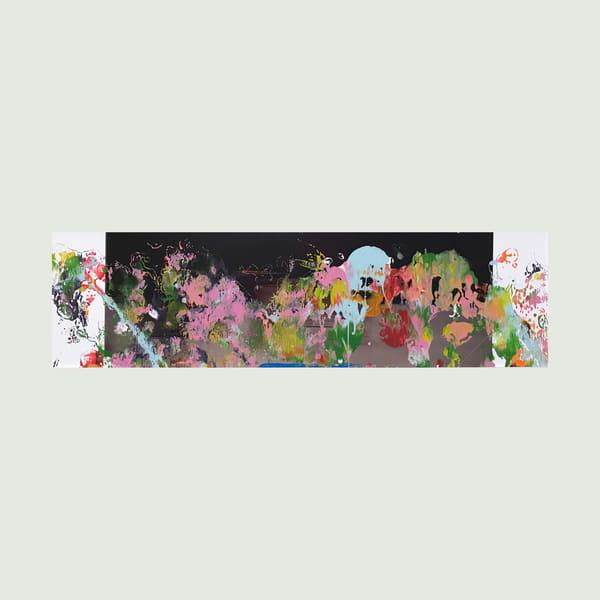 Night Flowers I Art   Maciek Peter Kozlowski Art