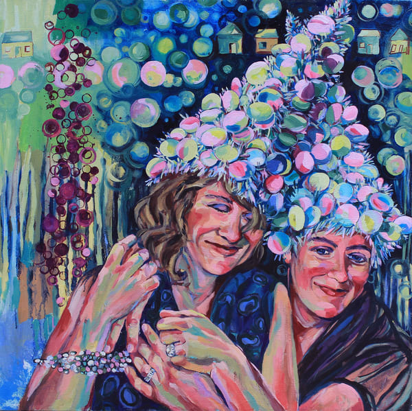 Love And Revelry The Girls Art | Joan Cox Art