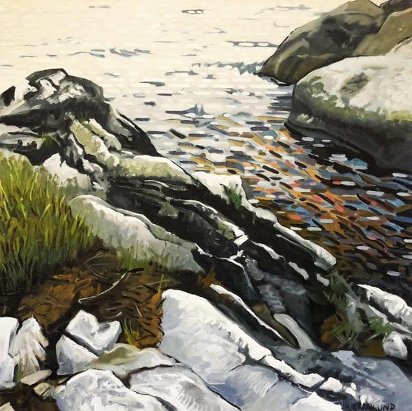 Rocky Nook Fine Art Print by Mark Granlund