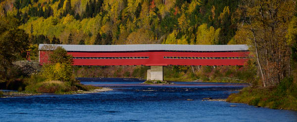 Routhierville Covered Bridge