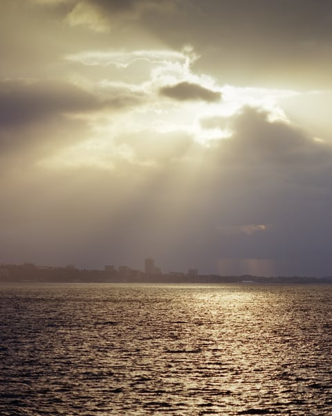 God Light   Santa Monica Bay Photography Art | Julian Whatley Photography