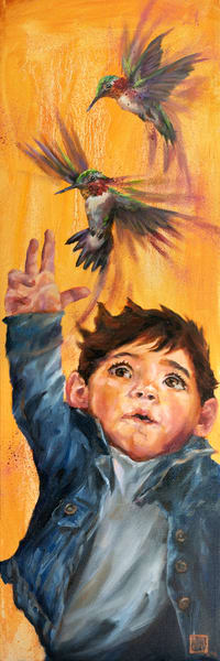 Little Bird: Grasp Art | Ans Taylor Art