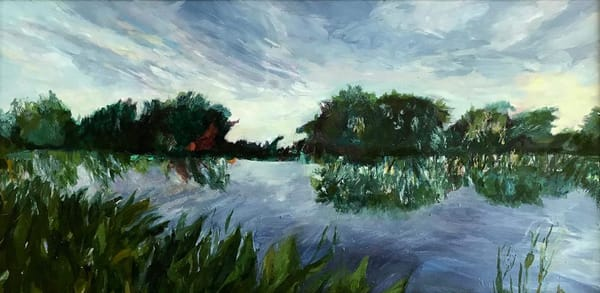 Dusk In Wakodahatchee Art | Roost Studios, Inc.