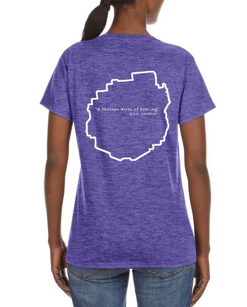 6 Million Acres Series V Neck T Shirt  | Kurt Gardner Photogarphy