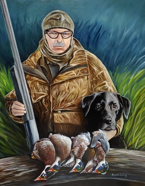 Hunting Buddies | Kevin Lang Fine Art
