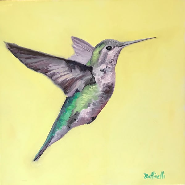 Humming Bird Ii   Original Art | Bottinelli Fine Art