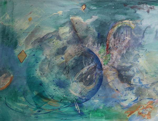 Europa 38x50 Mixed Media on Paper