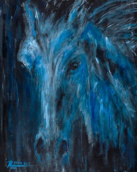 Spirit Horse Night Art | GSL ART