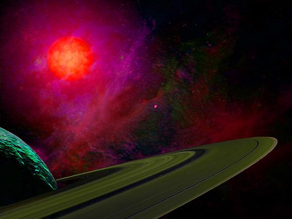 Dark Saturn Art | Don White-Art Dreamer