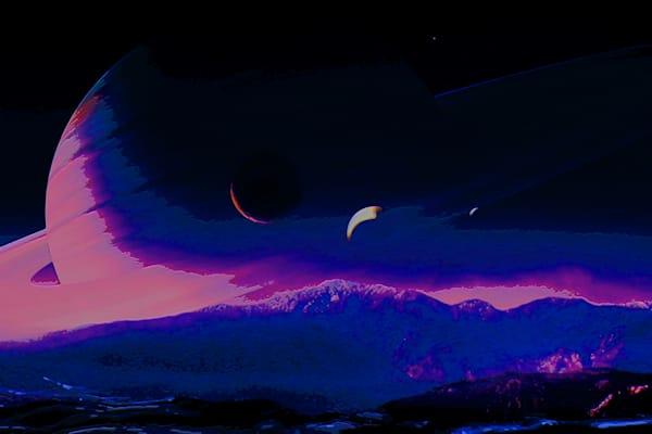 Ghost Planet Guardian Art | Don White-Art Dreamer