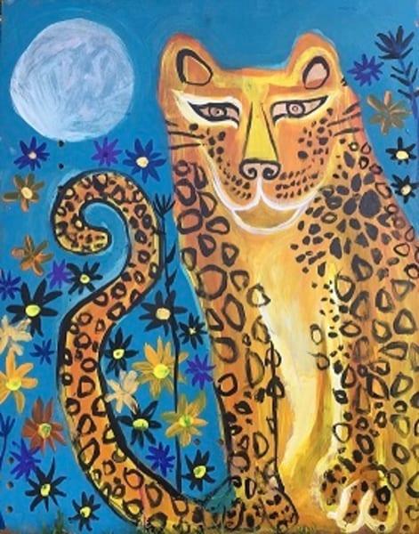 Blue Moon Jaguar Art | DuggArt
