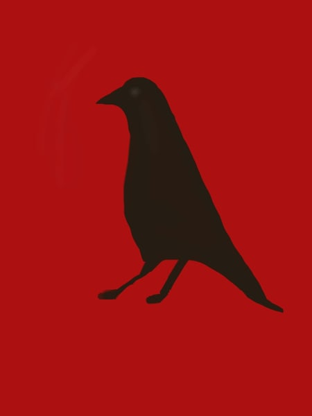 Crow Art   stephengerstman