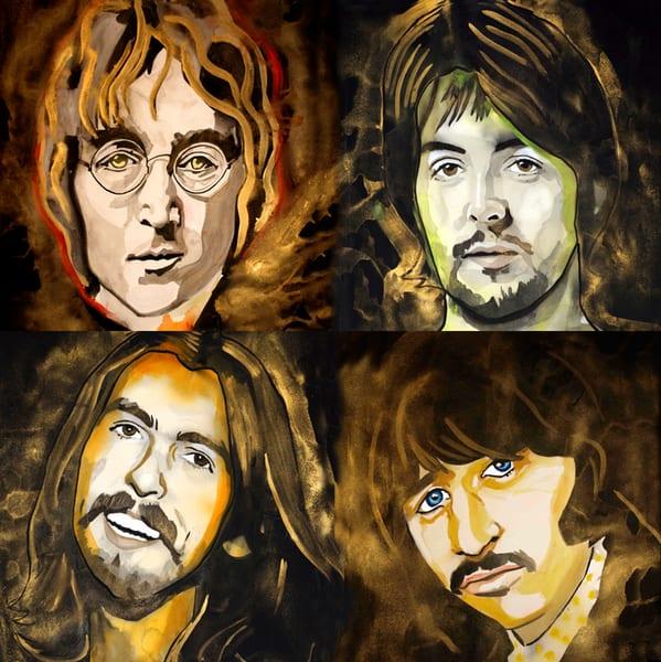 Beatles Coaster Art | William K. Stidham - heART Art