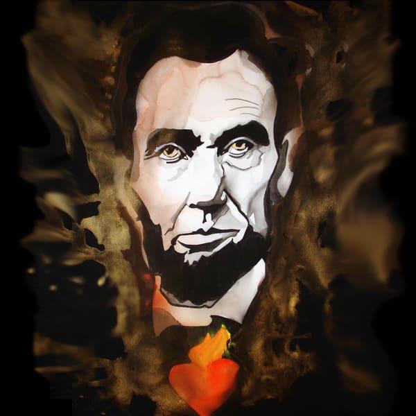 Abe Lincoln Coaster Art | William K. Stidham - heART Art