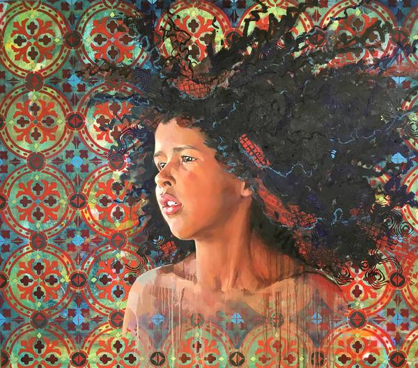 Curaçao Girl Art | Bianca Berends