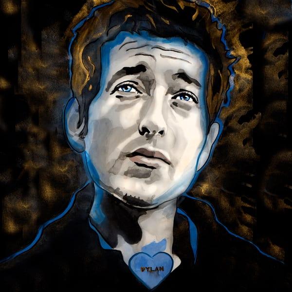 Bob Dylan Coaster Art | William K. Stidham - heART Art