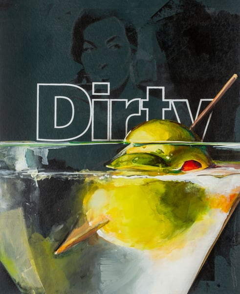 Dirty Martini Art | Jeff Schaller