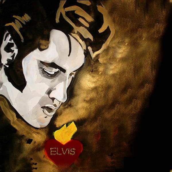 Elvis Coaster Art | William K. Stidham - heART Art