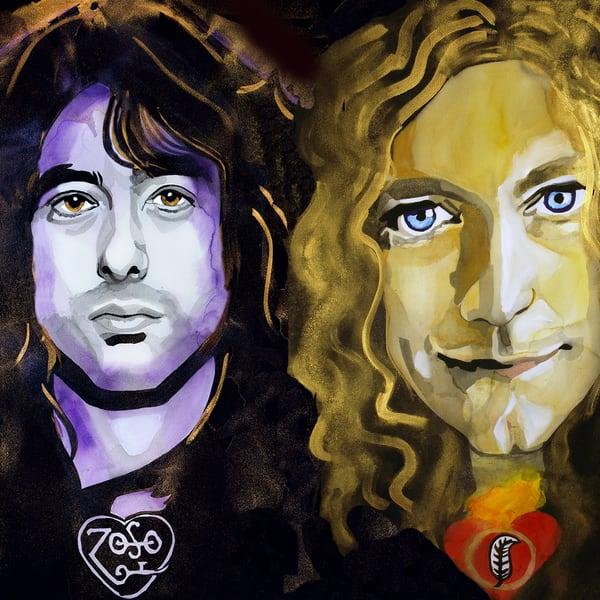 Led Zeppelin Coaster Art   William K. Stidham - heART Art