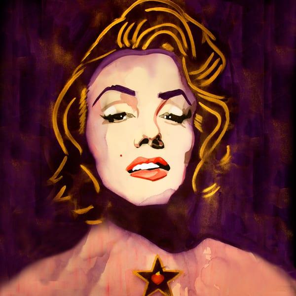 Marilyn Coaster Art   William K. Stidham - heART Art