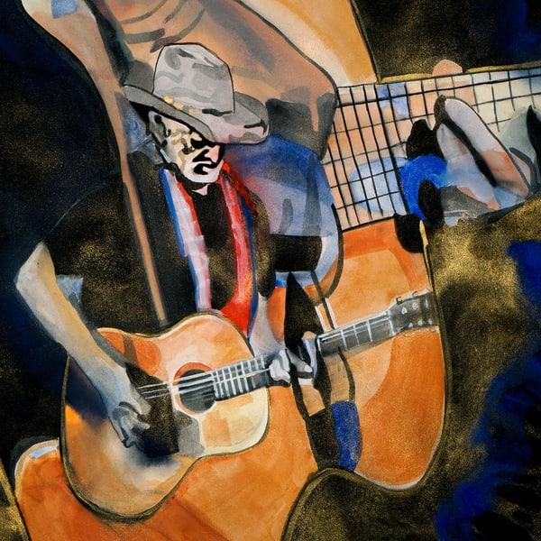 Willie And Trigger Coaster Art   William K. Stidham - heART Art