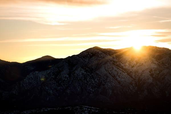Sunset At Liebre Summit Photography Art | Sydney Croasmun Photography